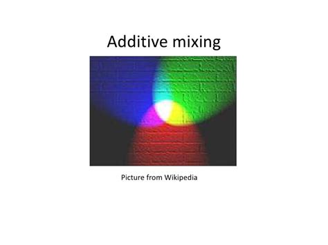 additive and subtractive color additive and subtractive primary colors