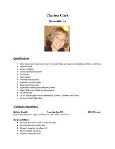 Best Nanny Resume by Nanny Resume