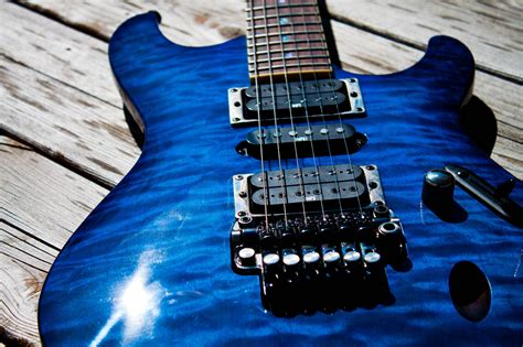 blue song guitar ibanez wallpapers wallpaper cave