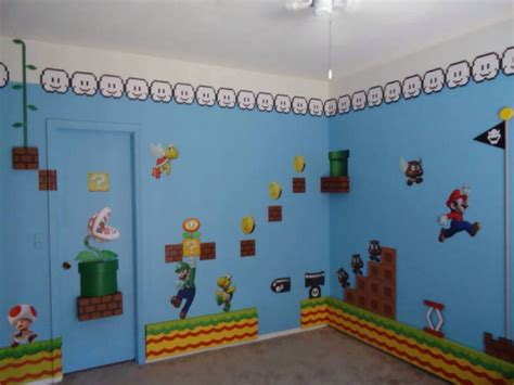 mario themed bedroom super mario bedroom