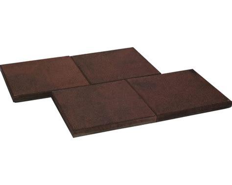terrassenplatten istone basic beton terrassenplatte istone basic rot schwarz 40x40x4cm