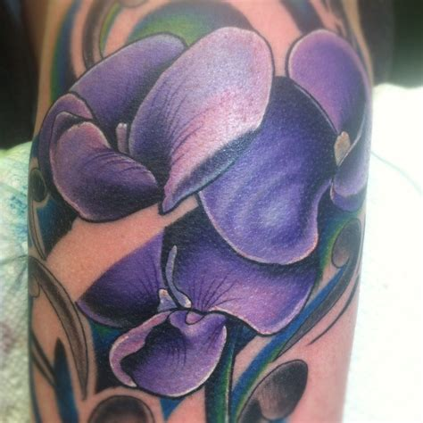 sweet pea flower tattoo designs sweet pea flower www imgkid the image