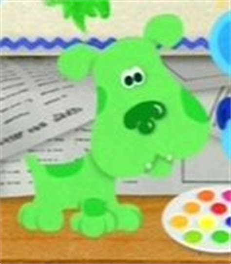 blues clues green green puppy blue s clues wiki fandom powered by wikia