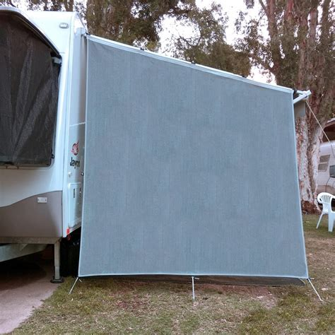 privacy screens for caravan awnings caravan privacy screen end wall side sunscreen sun shade