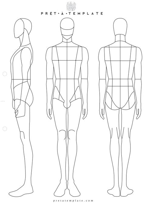 mens fashion templates best 20 figure ideas on figure drawing