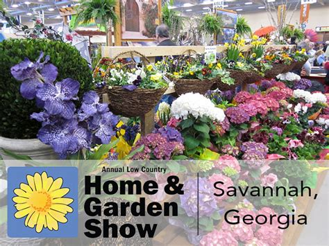 annual low country home garden show ga