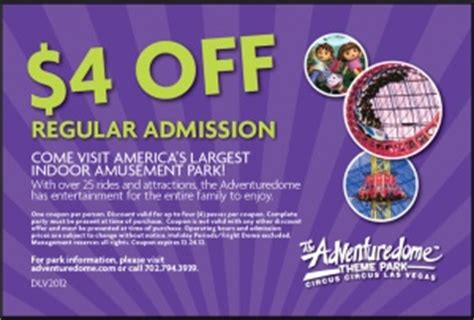 2 for 1 adventuredome coupons 2017 2018 best cars reviews
