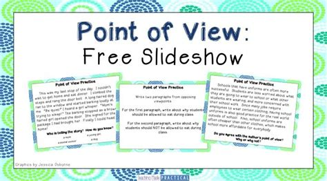 Point Of View Worksheets For Middle School by 82 Best Images About Reading Point Of View On