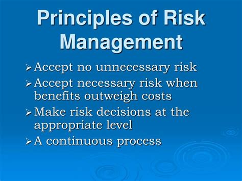 Search Risk Management Ppt Risk Management In Search Rescue Powerpoint