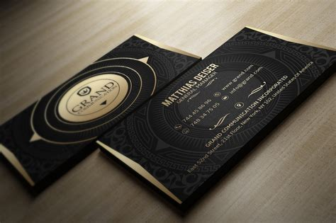 gold business card template free gold business card bundle 15 templates on behance