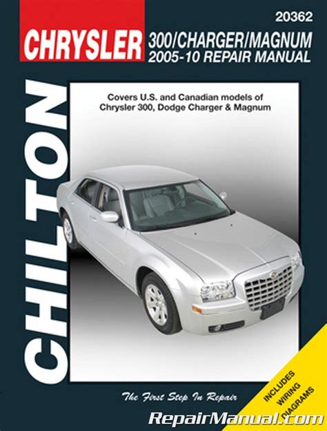 how to download repair manuals 2008 chrysler 300 engine control chilton chrysler 300 dodge charger and magnum 2005 2010 repair manual
