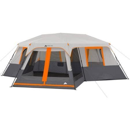 Ozark Trail 12 Person 3 Room Tent by Ozark Trail 12 Person 3 Room Instant Cabin Tent With