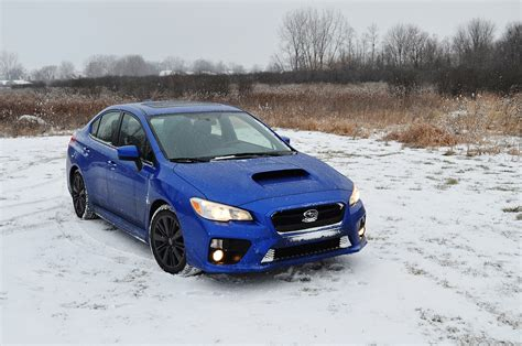 subaru snow 2015 subaru wrx premium playing in the snow