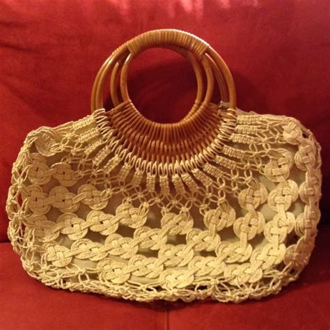 How To Macrame A Purse - none macrame purse from s closet on poshmark
