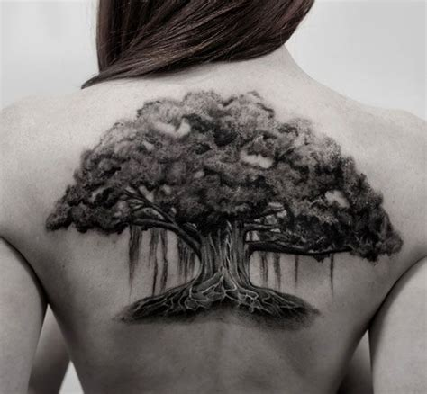 oak tree tattoo 121 best tree tattoos images on design tattoos