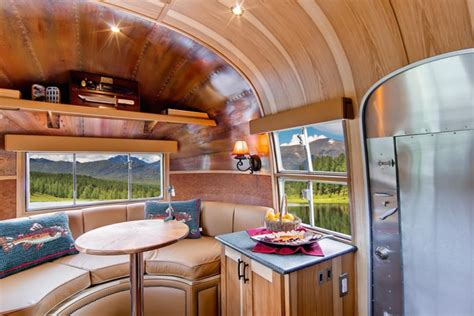 stunning restored  airstream flying cloud travel trailer