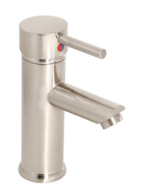 grifo tubular grifo de lavabo tubular inox ref 16361555 leroy merlin