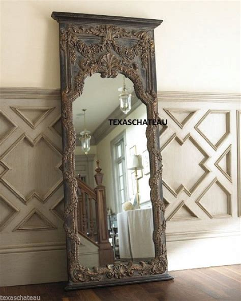 Ideas For Leaning Floor Mirror Design Furniture Decorating Large Leaner Mirror Idea For Interior Decor By Oversized Leaning