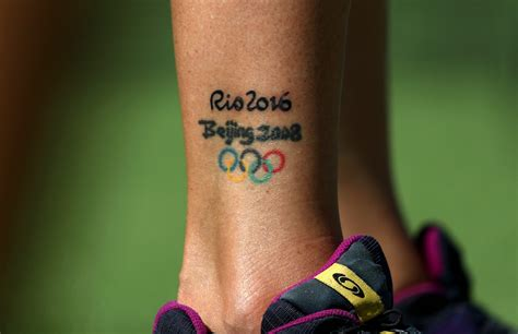 olympic rings small tattoo for five rings the yakuza and a sized maple leaf the