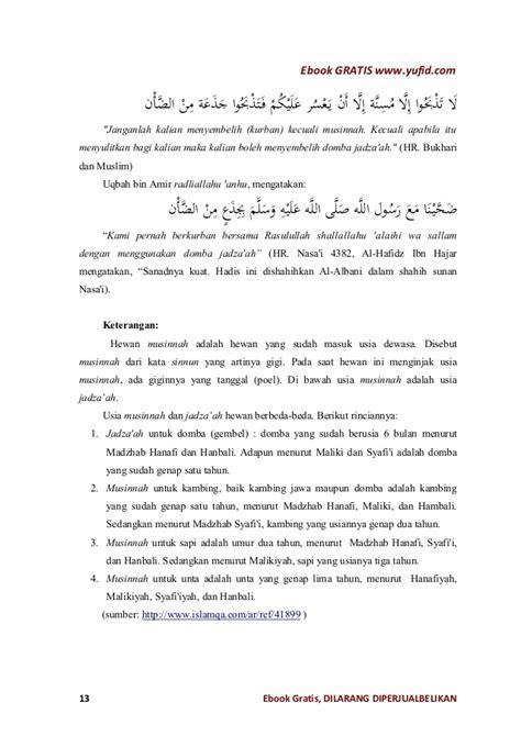Panduan Qurban panduan kurban praktis