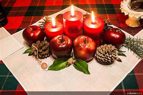 centrotavola natalizi fai da te con candele centrotavola natalizi originali da creare con il fai da te