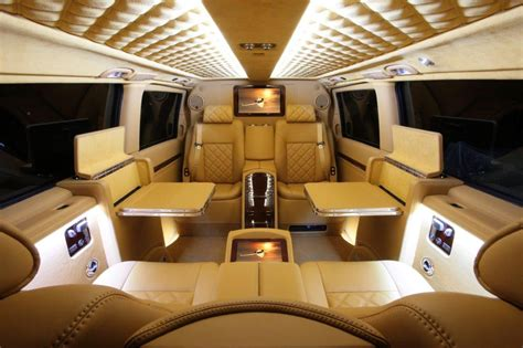 luxury minivan interior move over private jets check out this luxury private van