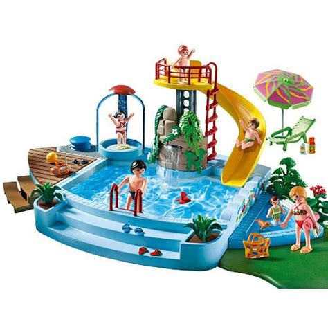 water slide toys r us playmobil toboggan de piscine and piscines on