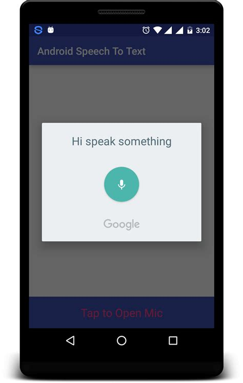 android text to speech android speech to text exle tutorial nk droid
