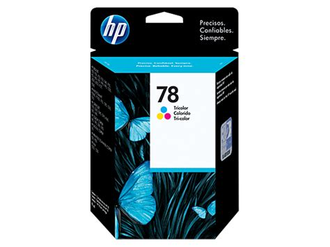 Hp Tinta Printer 78 Tri Colour hp 78 tri color original ink cartridge c6578dl hp 174 caribbean