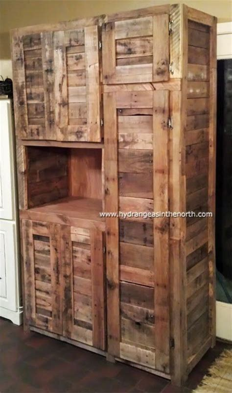 1000 ideas about pallet cabinet on pallets