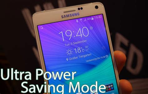ultra power saving mode apk samsung galaxy note 4 ultra power saving mode feature naldotech