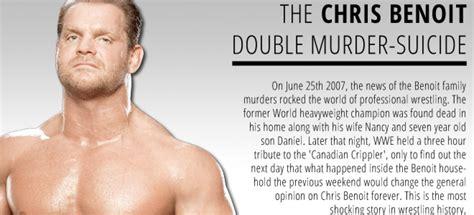 Chris Benoit Dead In Murder by The Chris Benoit Murder