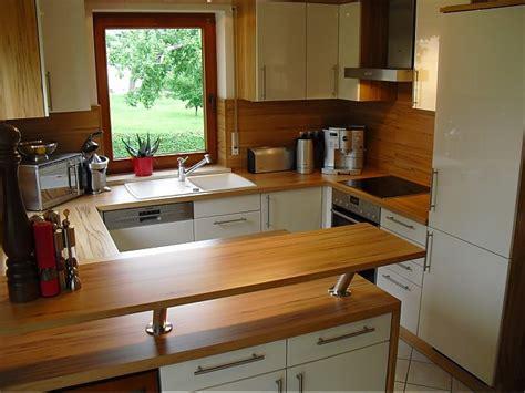 u form küche mit theke k 252 chen modern u form hochglanz dockarm