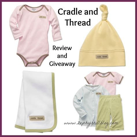 Free Baby Clothes Giveaway - cradle thread baby clothing review giveaway zephyr hill