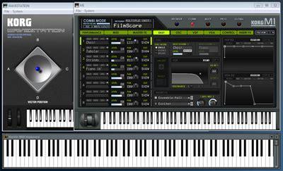 Keyboard Kn 7000 Di Medan synthesizer dengan korg legacy collection