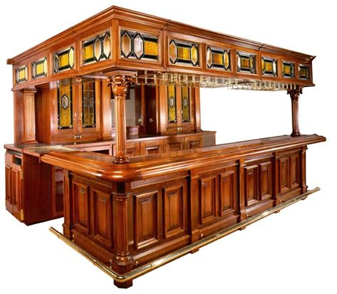 custom wood home bars home bar designs how and where to
