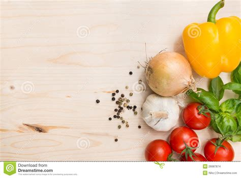 Culinary food background stock photo. Image of herb, fresh