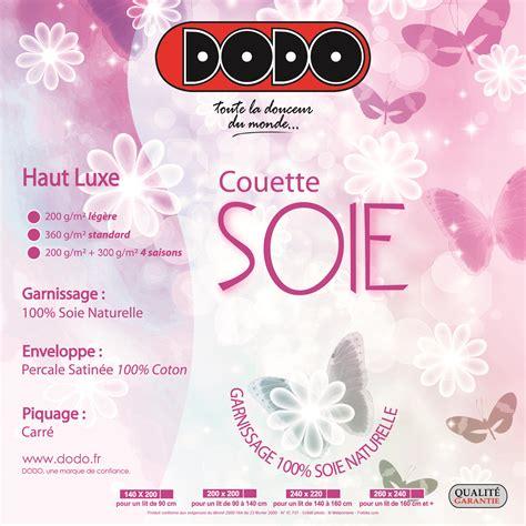 Dimension Des Couettes by Couette En Soie Naturelle Dodo