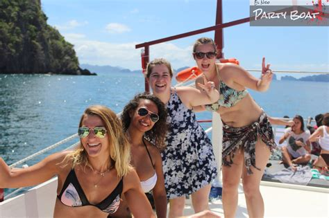 party boat trip el nido island cing trips on the party boat