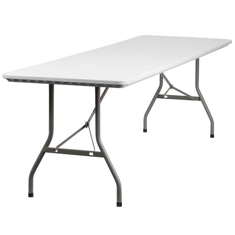 Canadian Tire Folding Table Flash Furniture 30 W X 96 L Plastic Folding Table By Oj Commerce Rb 3096 Gg 185 27