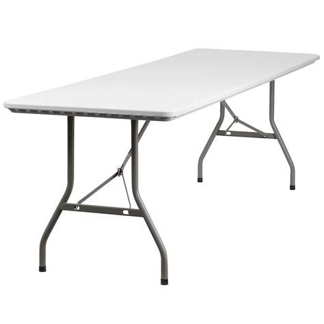 flash furniture 30 w x 96 l plastic folding table by oj