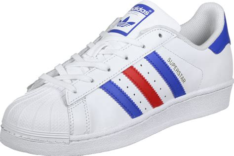 adidas superstar shoes adidas superstar j w shoes white blue