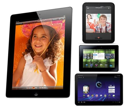 Hp Tablet Motorola 2 takes on motorola xoom hp touchpad and blackberry playbook in specs comparison tablet news