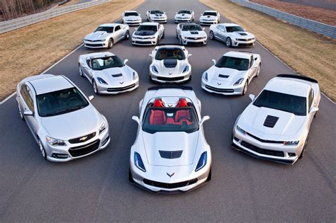 Chevrolet Shows Off Expanded Performance Car Line for the 2015 Model Year   Corvette: Sales