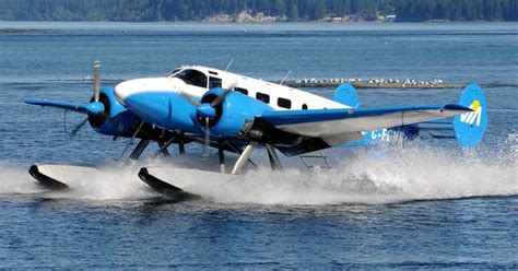 flying boat vancouver island beech expeditor 3nm d18s aircraft picture aviation