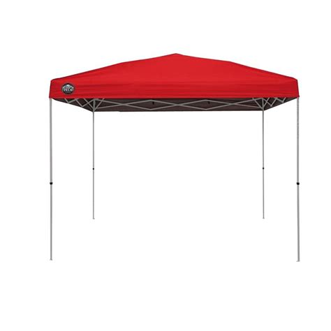 100 tent deck outdoor gazebo home depot portable shade tech st100 10 ft x 10 ft instant patio canopy in