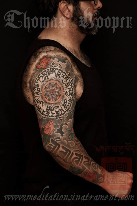 tibetan tattoo awesome tibetan buddha on forearm
