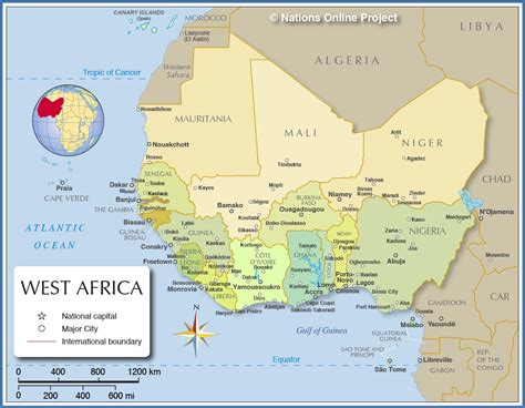 map of the west a thurston west africa political map maydan