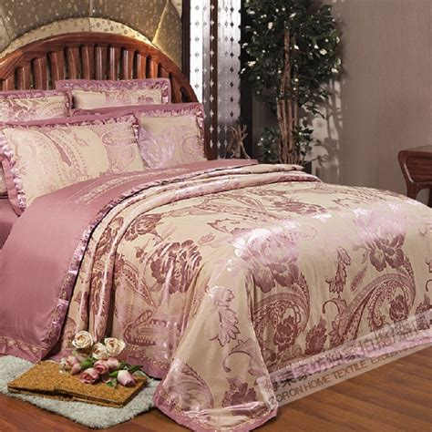coverlets full size 2016 new 100 cotton luxury bedding set satin jacquard