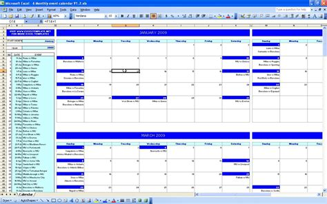 workout calendar excel calendar monthly printable